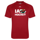 Under Armour Cardinal Tech Tee-IA Hockey w State