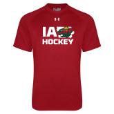 Under Armour Cardinal Tech Tee-IA Hockey w State