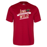 Performance Cardinal Tee-Iowa Wild Banner Design
