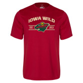 Performance Cardinal Tee-Iowa Wild Arched