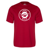 Performance Cardinal Tee-Iowa Wild Seal One Color
