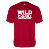 Performance Cardinal Tee-Wild Hockey