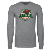Grey Long Sleeve T Shirt-5 Years