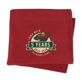 Cardinal Sweatshirt Blanket-5 Years