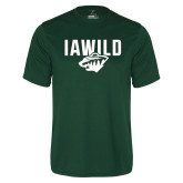 Performance Dark Green Tee-IAWILD