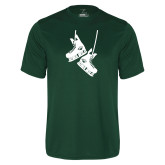Performance Dark Green Tee-Skates