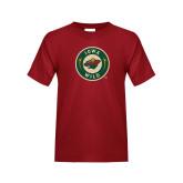Youth Cardinal T Shirt-Secondary Mark
