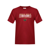 Youth Cardinal T Shirt-Hockey Lives Here