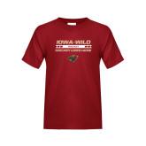 Youth Cardinal T Shirt-Hockey Lives Here