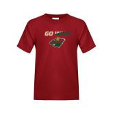 Youth Cardinal T Shirt-Go Wild