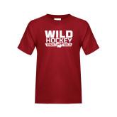 Youth Cardinal T Shirt-Wild Hockey