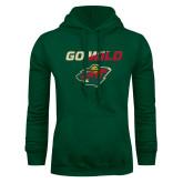 Dark Green Fleece Hood-Go Wild