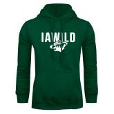 Dark Green Fleece Hood-IAWILD