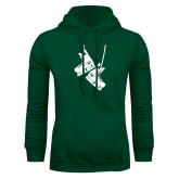 Dark Green Fleece Hood-Skates
