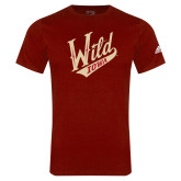 Adidas Cardinal Logo T Shirt-Primary Mark