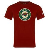 Adidas Cardinal Logo T Shirt-Secondary Mark