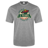Performance Grey Heather Contender Tee-5 Years