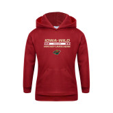 Youth Cardinal Fleece Hoodie-Hockey Lives Here