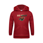 Youth Cardinal Fleece Hoodie-Go Wild