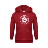 Youth Cardinal Fleece Hoodie-Iowa Wild Seal One Color