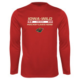 Performance Cardinal Longsleeve Shirt-Hockey Lives Here