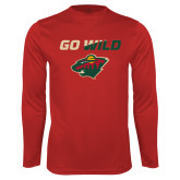 Syntrel Performance Cardinal Longsleeve Shirt-Go Wild