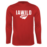 Syntrel Performance Cardinal Longsleeve Shirt-IAWILD