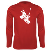 Syntrel Performance Cardinal Longsleeve Shirt-Skates