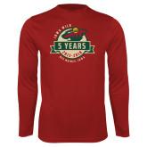 Syntrel Performance Cardinal Longsleeve Shirt-5 Years