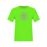 Youth Neon Green T Shirt-Bear Head Tone