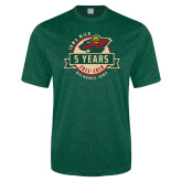 Performance Dark Green Heather Contender Tee-5 Years
