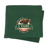 Dark Green Sweatshirt Blanket-5 Years