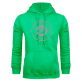 Lime Green Fleece Hoodie-Bear Head Tone