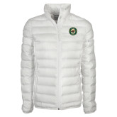 Columbia Mighty LITE Ladies White Jacket-Secondary Mark