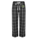 Black/Grey Flannel Pajama Pant-Secondary Mark