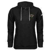 Adidas Climawarm Black Team Issue Hoodie-Iowa Wild w Bear Head