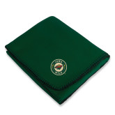 Dark Green Arctic Fleece Blanket-Secondary Mark