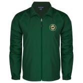Full Zip Dark Green Wind Jacket-Secondary Mark