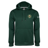 Under Armour Dark Green Performance Sweats Team Hoodie-Secondary Mark
