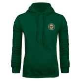 Dark Green Fleece Hood-Secondary Mark