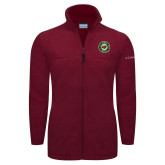 Columbia Full Zip Cardinal Fleece Jacket-Secondary Mark