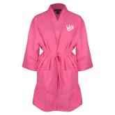Hot Pink Waffle Kimono Robe-Primary Mark