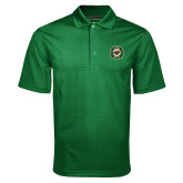 Dark Green Mini Stripe Polo-Secondary Mark