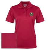 Ladies Cardinal Dry Mesh Polo-Secondary Mark