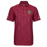 Nike Dri Fit Cardinal Embossed Polo-Secondary Mark