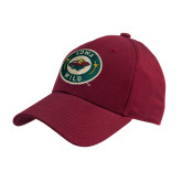 Cardinal Heavyweight Twill Pro Style Hat-Secondary Mark