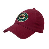 Cardinal Twill Unstructured Low Profile Hat-Secondary Mark