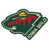 Extra Large Magnet-Iowa Wild w Bear Head, 18in Wide