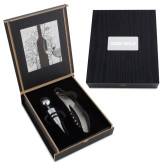 Belgio 2 Piece Wine Ensemble-Iowa Wild Flat Engraved