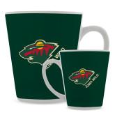 Full Color Latte Mug 12oz-Iowa Wild w Bear Head